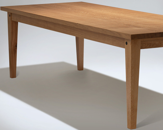 English Oak Dining or Kitchen Table