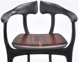 Swallowtail Chair - Ebonized with Cocobolo
