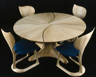 Lily Pad Table and Chairs II