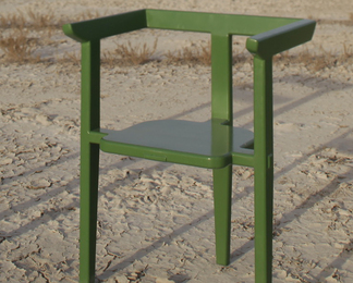 Aerofina Arm Chair - Green