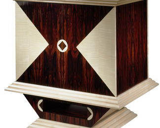 TV/Video Cabinet - Rosewood
