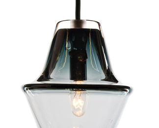 Cumberland Lamp - Smoke Grey