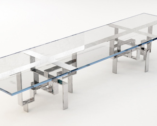 Metropolis Dining Table - Rectangle - Double