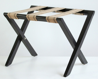 Luggage Rack - Ebonized Ash