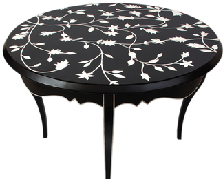 Passion Lilies Dining Table