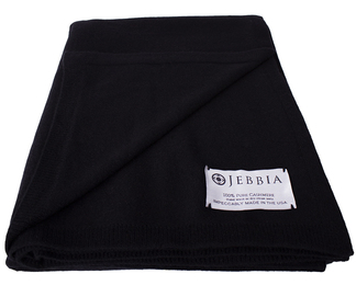 Cashmere Throw - Black