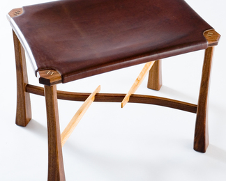 Little Willis Valley Stool - Walnut