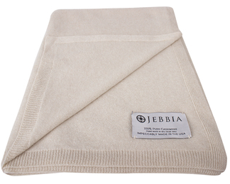 Cashmere Throw - Sand