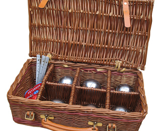 Wicker Boule Set