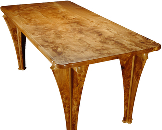Dining Table - Burr Elm