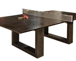 Black Ping Pong Dining Table