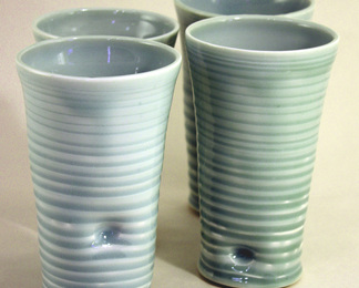 Celadon Tumbler - Set of 4