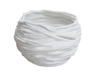 Nest Votive - White Biscuit