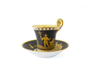 Empire Golden Age - Cup and Saucer
