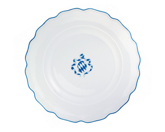 Bavaria Plate - Blue and White