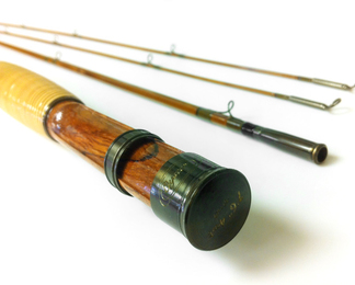Signature Series Fly Rod with blued hardware