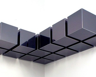 Float Shelf - Smoked Aluminum