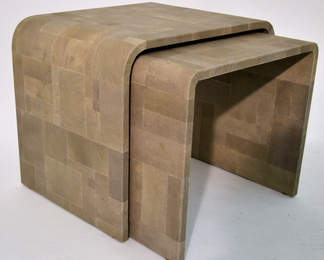 Shagreen Nesting Tables