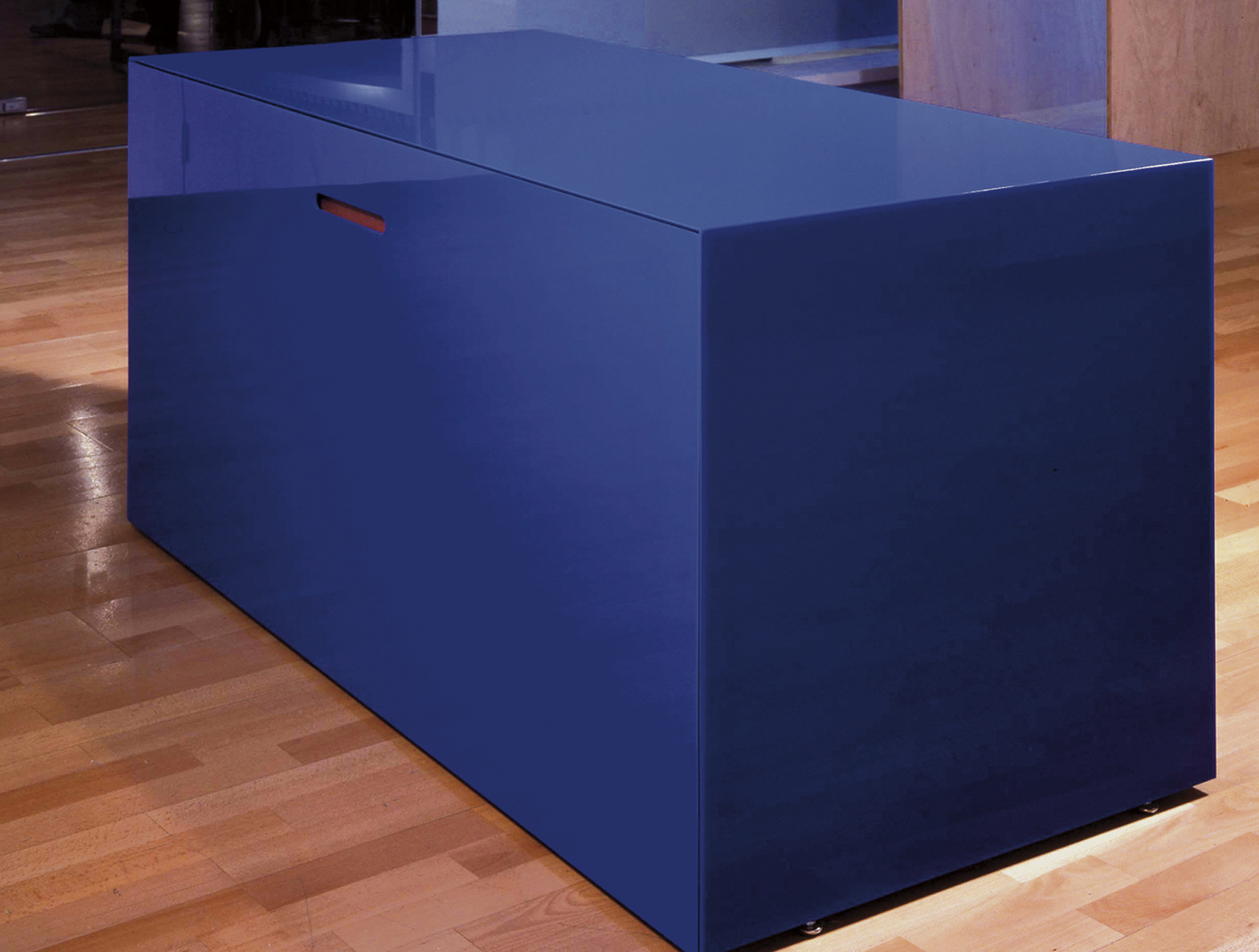 Bespoke Global Product Detail Blue Desk