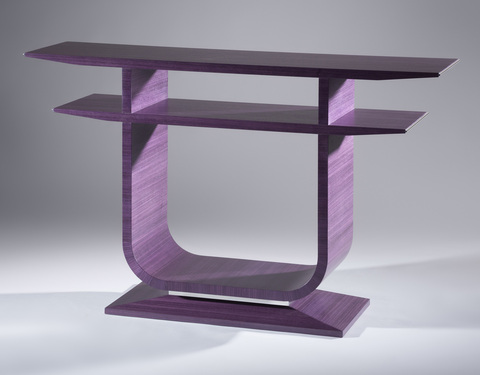 Outstanding Bespoke Global Product Detail Emile Console Table Purple Theyellowbook Wood Chair Design Ideas Theyellowbookinfo