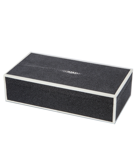 Cufllink_jb_charcoal_shagreen_and_bone_closed_view_main